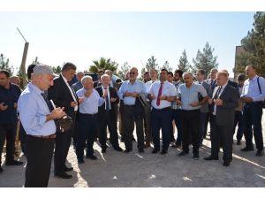 Harran Üniversitesi rektörlüğü Osmanbey'e taşındı