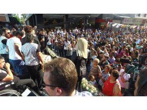 Mersin Uluslararası Engelsiz Sanat Festivali coşkulu başladı