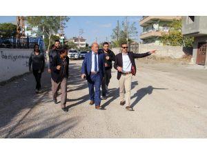 Van Büyükşehir Belediyesinden yol genişletme çalışması