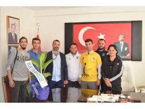 Milaslı Fenerbahçelilerden Milli Eğitim Müdürü Bal'a ziyaret