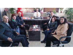 Atatürk Lisesi mezunlarından ziyaret