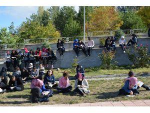 Suşehri'nde okuma etkinliği yapıldı