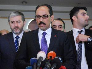 Cumhurbaşkanlığı Sözcüsü İbrahim Kalın'dan ABD'ye vize tepkisi