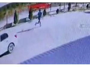 Av tüfeğiyle sokak köpeğini vurup, aracıyla götürdü