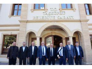 AK Parti Yerel Yönetimler Başkan Yardımcısı Geldi'den Başkan Arslan'a ziyaret