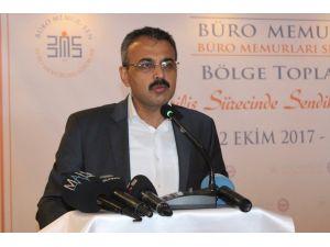Büro Memur-Sen Genel Başkanı Yanbaz: