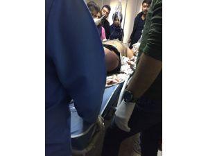 Pervari'de tuzaklı EYP iş makinesinin geçişi sırasında patlatıldı: 1 yaralı