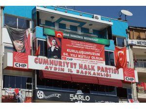 Aydın CHP binasında hırsızlık iddiası