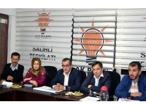 Salihli'ye AK Parti'den yatırım müjdesi
