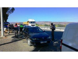 Manisa'da polis ve jandarmadan drone destekli denetim