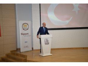 """Bakan Kurtulmuş """"Milli Kültürün Gelişmesinde Eğitimin Rolü"""" konferansına katıldı"""