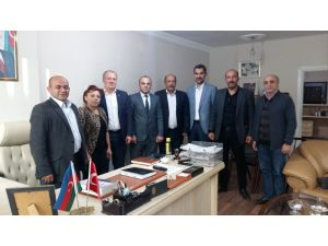 Asimder'den Azerbaycan Konsolosu Gadalı'ya ziyaret