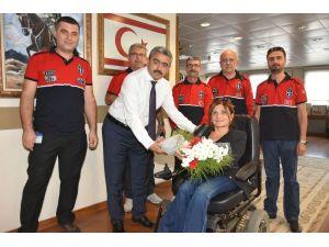 TRAC Nazilli Şubesinden Başkan Alıcık'a ziyaret