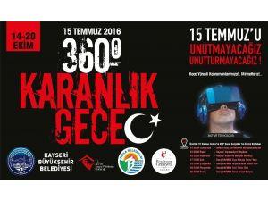 15 Temmuz Sanal Gerçeklik Tırı Kayseri'ye Geliyor