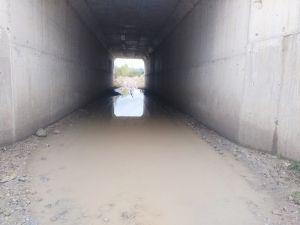 Alt geçit sular altında