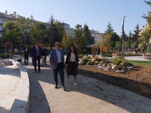 Başkan Hasan Akgün, ilçede gerçekleştirilen çalışmaları yerinde inceledi