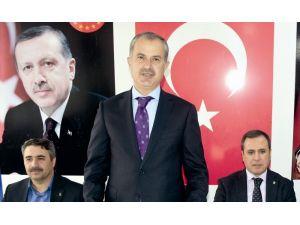 Erdoğan, Kahta İlçe Teşkilatıyla bir araya geldi