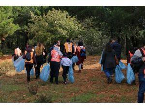 'Doğa İçin Pedal Çevir' Projesi kapsamında Aydos ormanı temizlendi