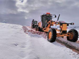 Büyükşehir Belediyesi'nin kar mesaisi başladı