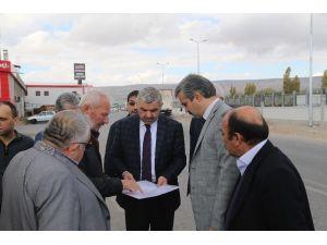 Başkan Çelik, Karpuzatan'da yapılan çalışmaları yerinde inceledi