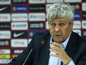 A Milli Futbol Takımı teknik direktörü Lucescu: Türk futbolunun bir geleceği var