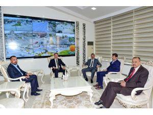 MHP'den Başkan Çakır'a ziyaret