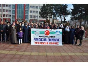 Ercişli şehit aileleri ve gazileri İstanbul gitti