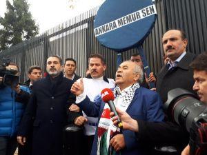 Memur-Sen'den ABD'nin Kudüs kararına protesto