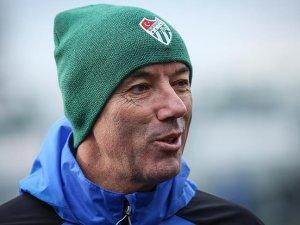 Bursaspor Teknik Direktörü Le Guen takımından umutlu
