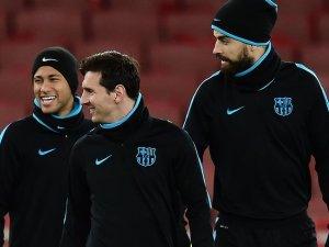 Pique'den Neymar'a 'Paris' desteği