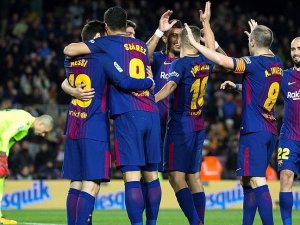 Barcelona liderlik koltuğunda rahat