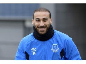 Cenk Tosun, Everton antrenmanında