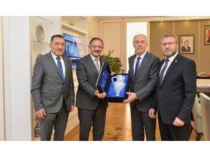 Başkan Saraçoğlu'ndan Bakan Öshaseki'ye teşekkür ziyareti
