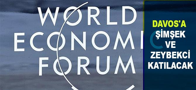 Davos'a Şimşek ve Zeybekci katılacak