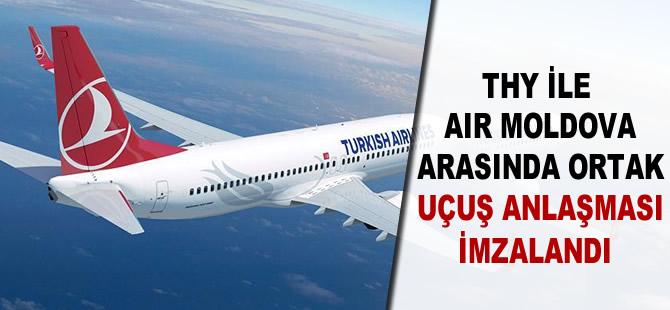 THY ile Air Moldova arasında ortak uçuş anlaşması imzalandı