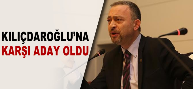 Ümit Kocasakal CHP Genel Başkanlığı'na aday oldu
