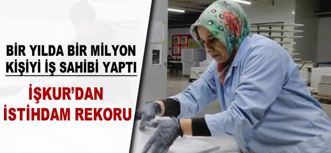 İŞKUR'dan istihdam rekoru