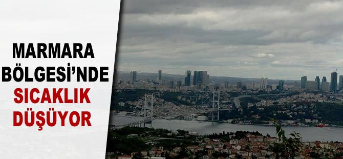 Marmara Bölgesi'nde sıcaklık düşüyor
