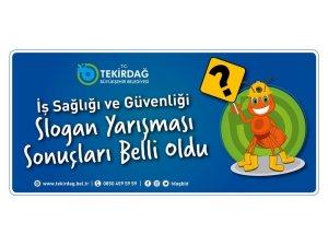 Büyükşehir Belediyesi 'İş Sağlığı ve Güvenliği Sloganı' belli oldu