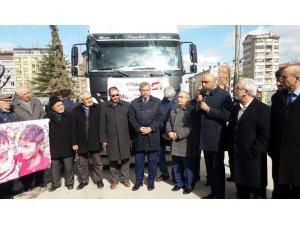 Kütahyalılardan Suriyeli savaş mağdurlarına yardım