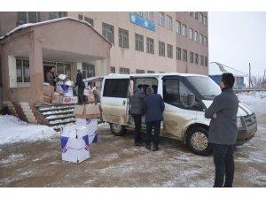 Yüksekova Haber sitesi okurları, 2 bin öğrenciyi ısıttı