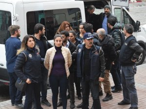 Terör propagandası yapan 6 HDP'li yönetici tutuklandı
