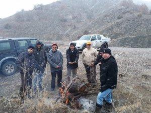 Erzincan'da sürek avı düzenlendi