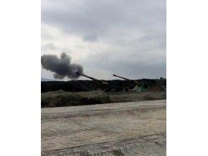 PYD hedefleri ateş destek vasıtalarıyla vuruluyor