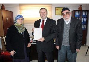 Huzurevi sakinlerinden Afrin'deki Mehmetçiğe destek