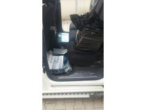 Muradiye'de 4 bin 200 paket kaçak sigara ele geçirildi