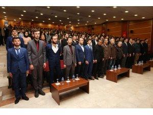 PAÜ'de şehitleri anma programı düzenlendi