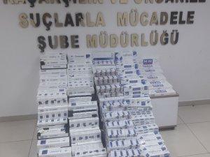 Çorum'da 3.340 paket kaçak sigara ele geçirildi