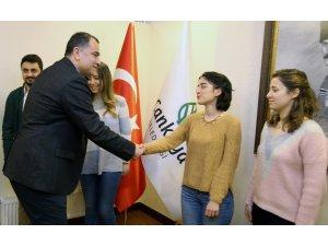 Çankaya'nın filizleri Başkan Taşdelen'le buluştu