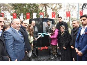 Şehitler Parkı'na Fırat Yılmaz anısına çeşme yapıldı
